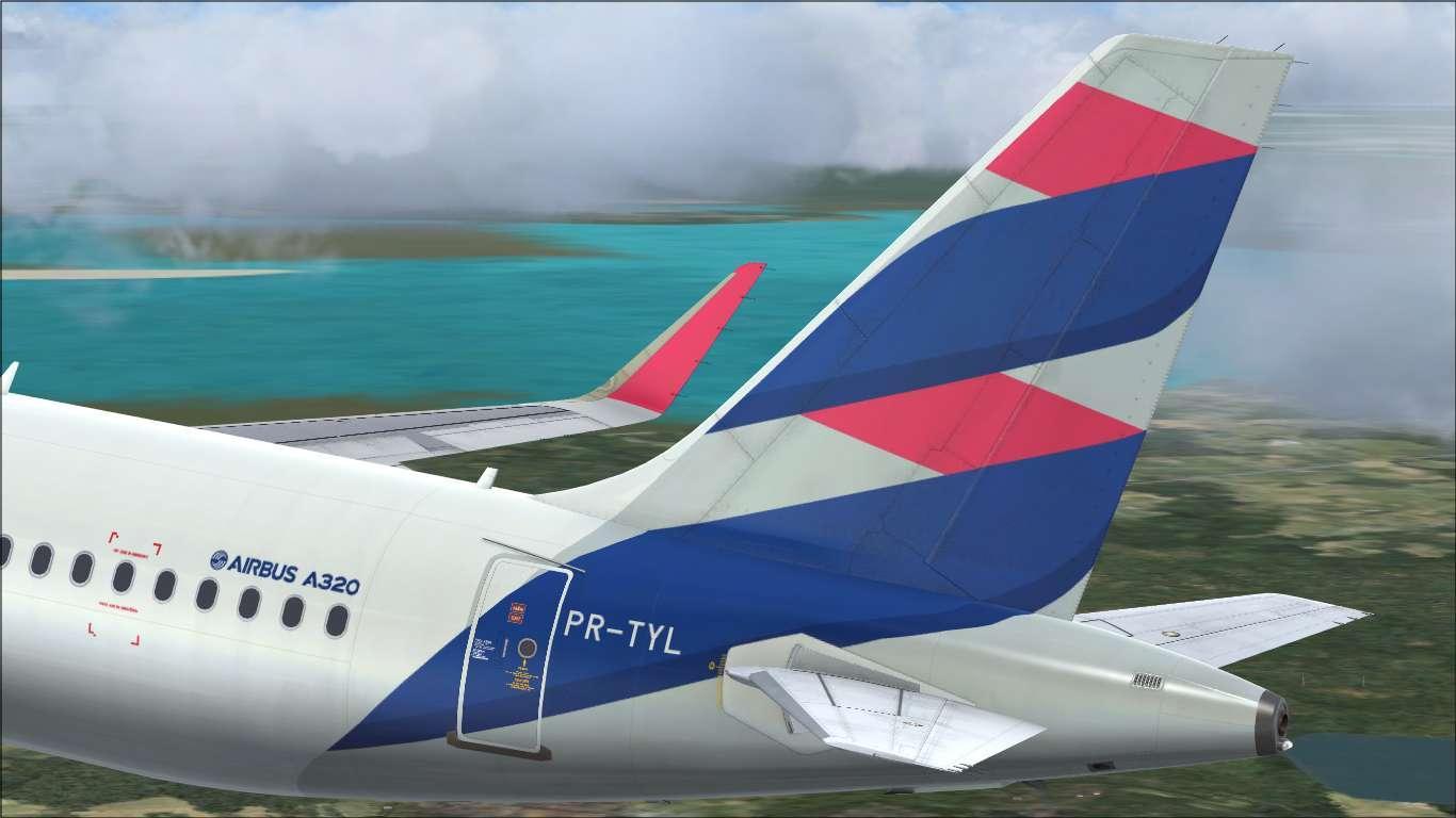 LATAM Brasil PR-TYL Airbus A320 CFM