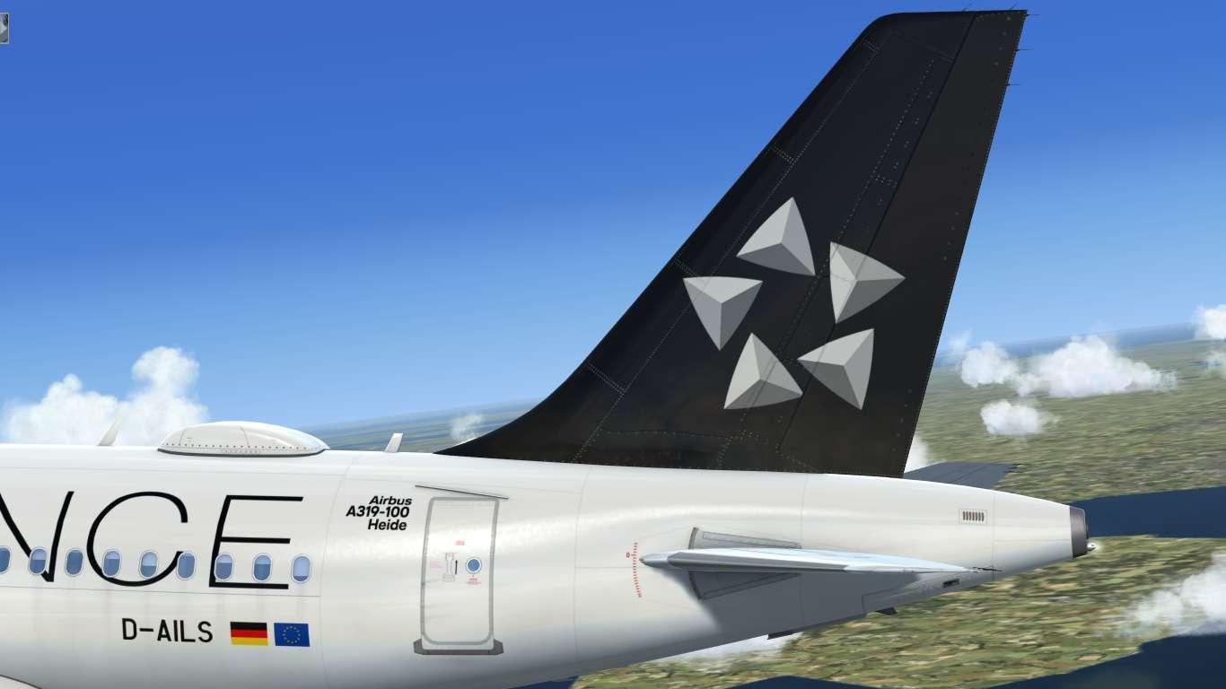 Star Alliance (Lufthansa CityLine) D-AILS Airbus A319 CFM