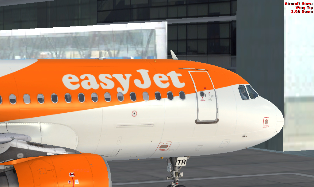 Easyjet G-EZTR A320 CFM HD - Airbus A320/A321 liveries - AEROSOFT