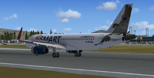 Screenshot for JetSMART Airbus A320 CC-AWA