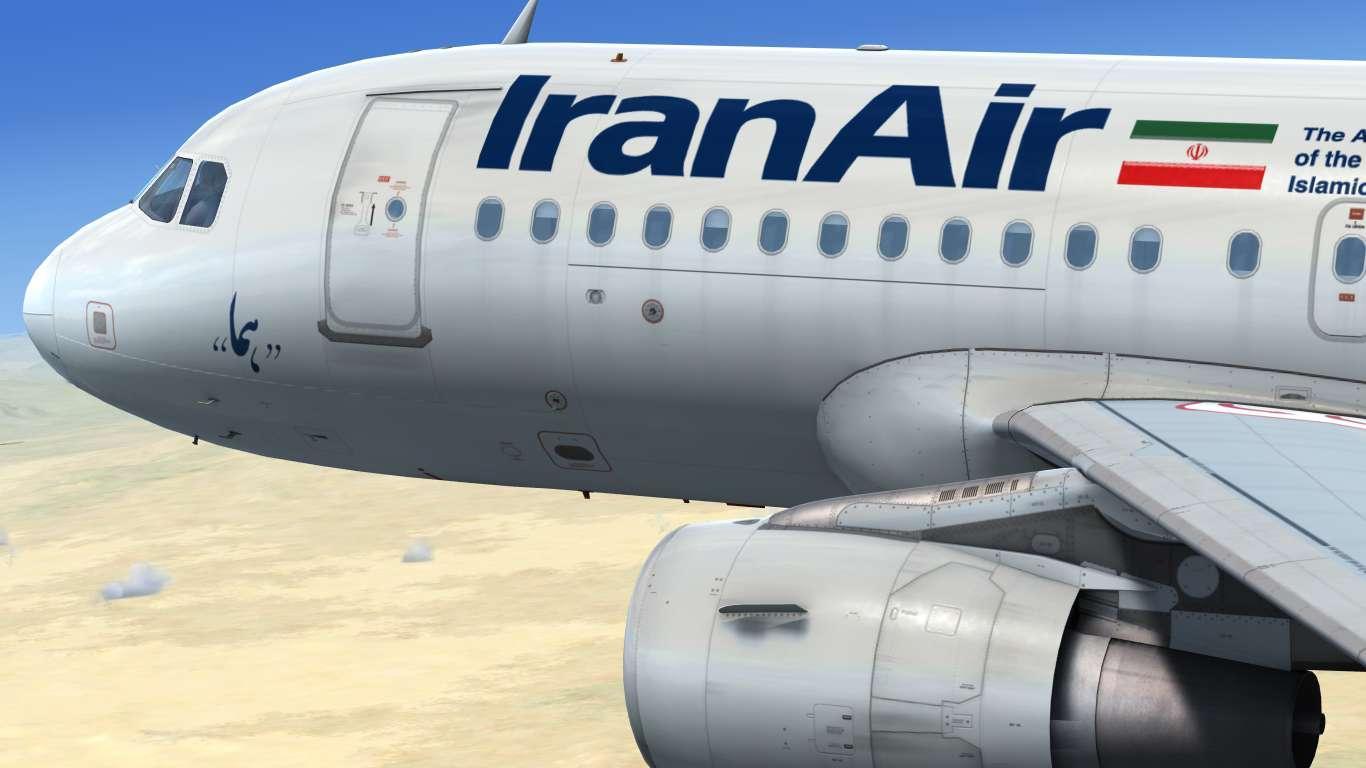 IranAir EP-IEP Airbus A319 CFM