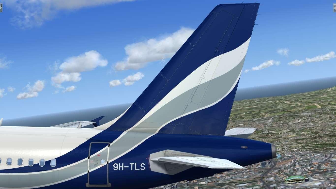 Hi Fly Malta 9H-TLS Airbus A319 CFM