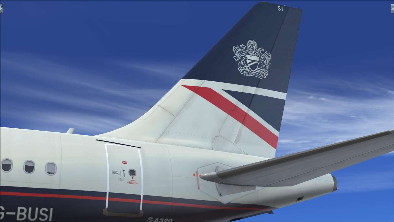 British Airways OC G-BUSI Airbus A320 CFM