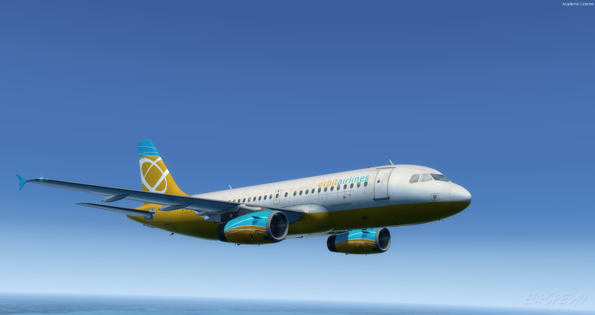 Aerosoft A319 IAE | Orbit Airlines