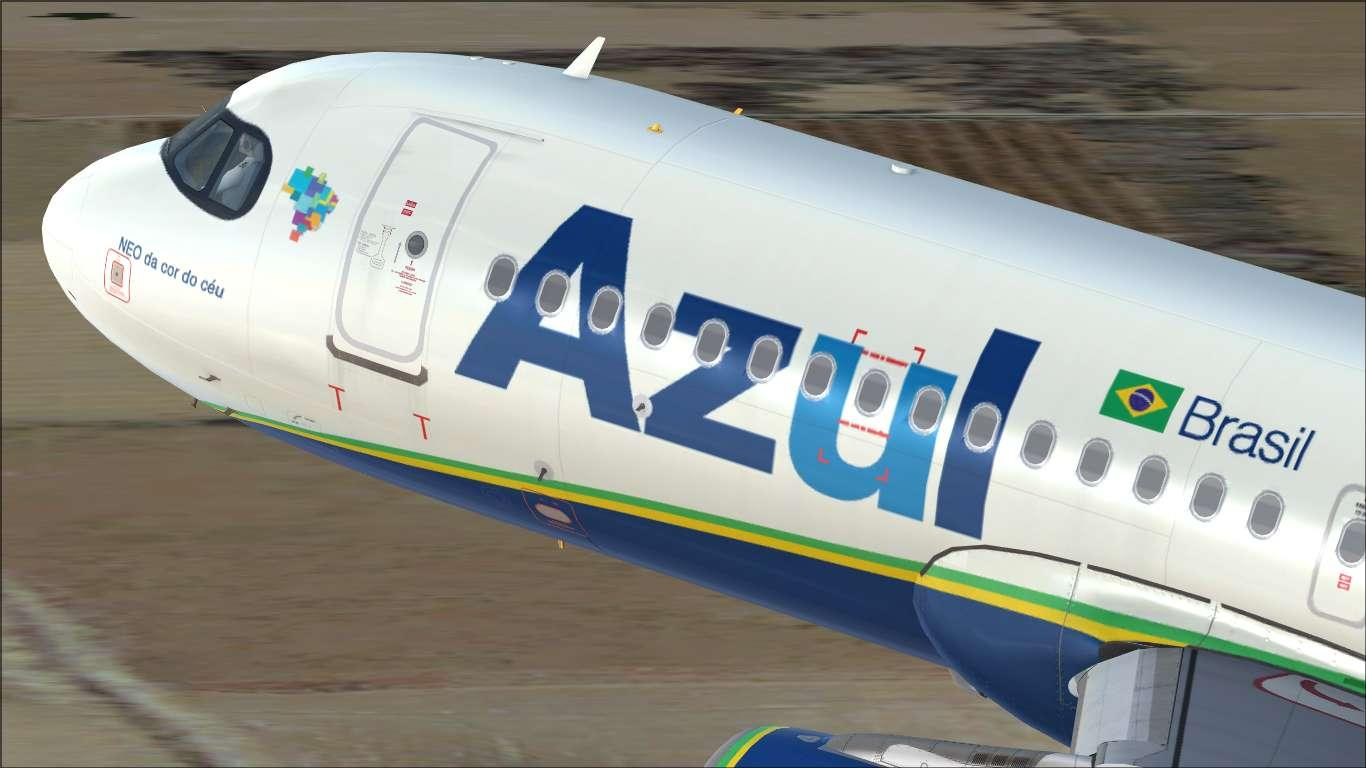 Azul Linhas Aéreas PR-YSA Airbus A320 CFM