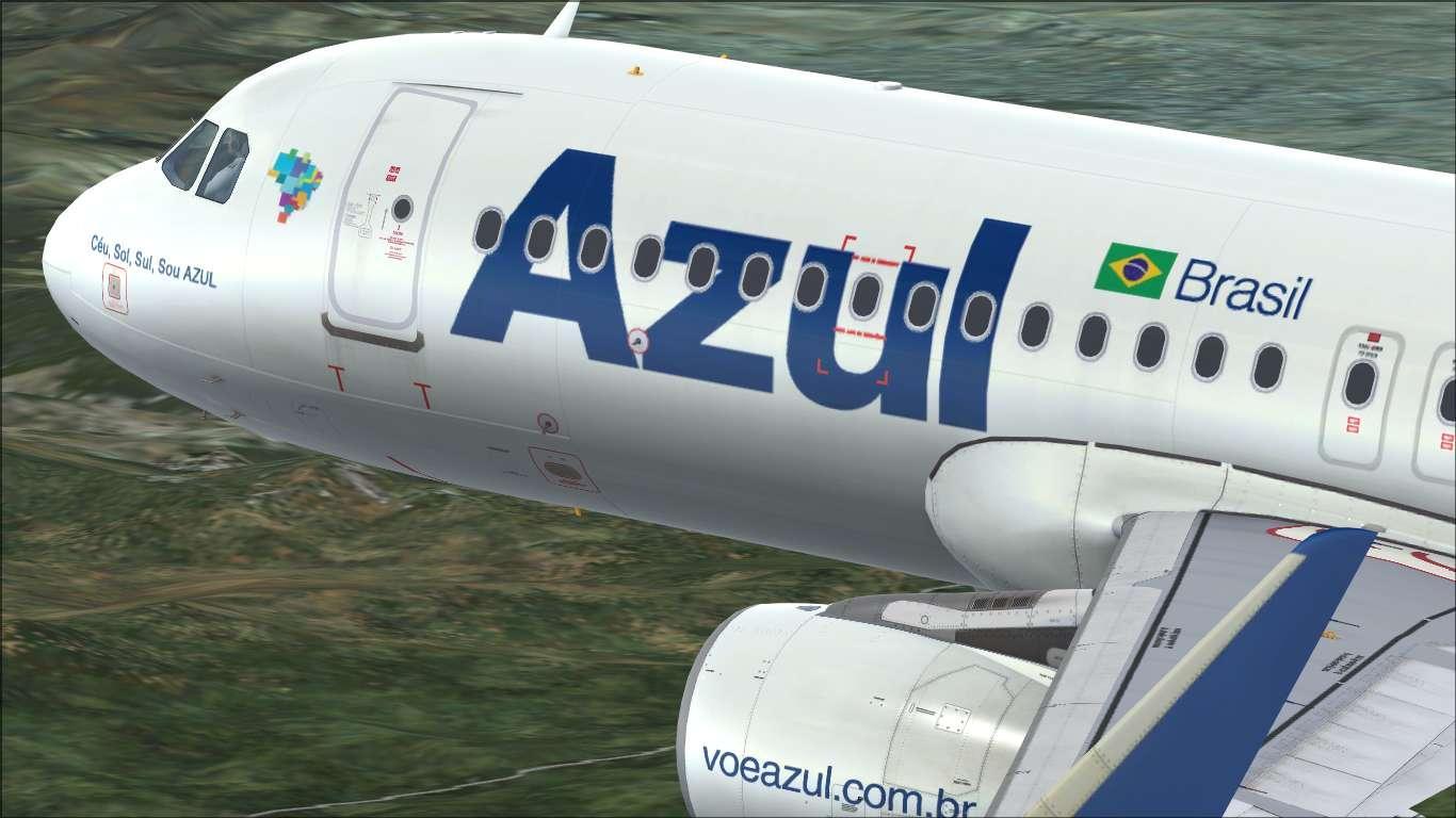 Azul Linhas Aéreas PR-AJE Airbus A320 CFM
