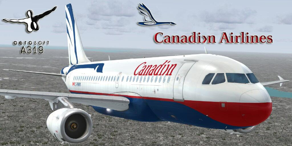 A319 IAE Canadian Airlines Final Livery