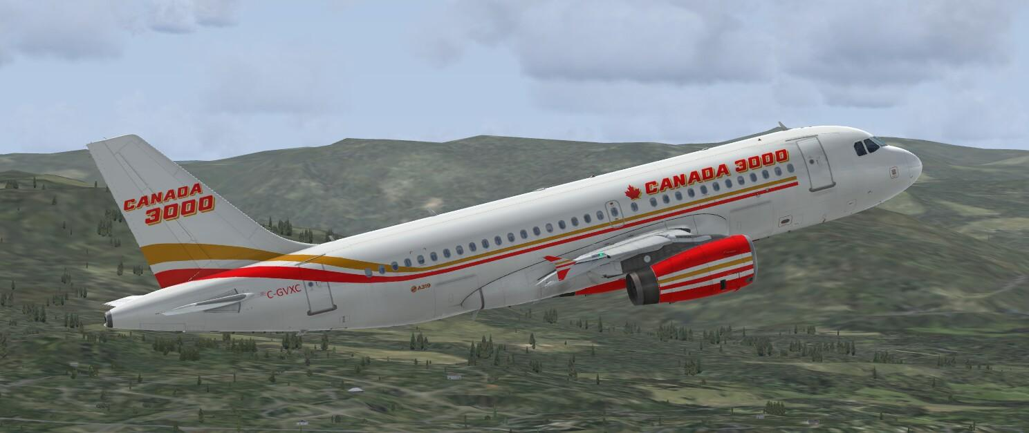 Airbus A319 IAE Canada 3000