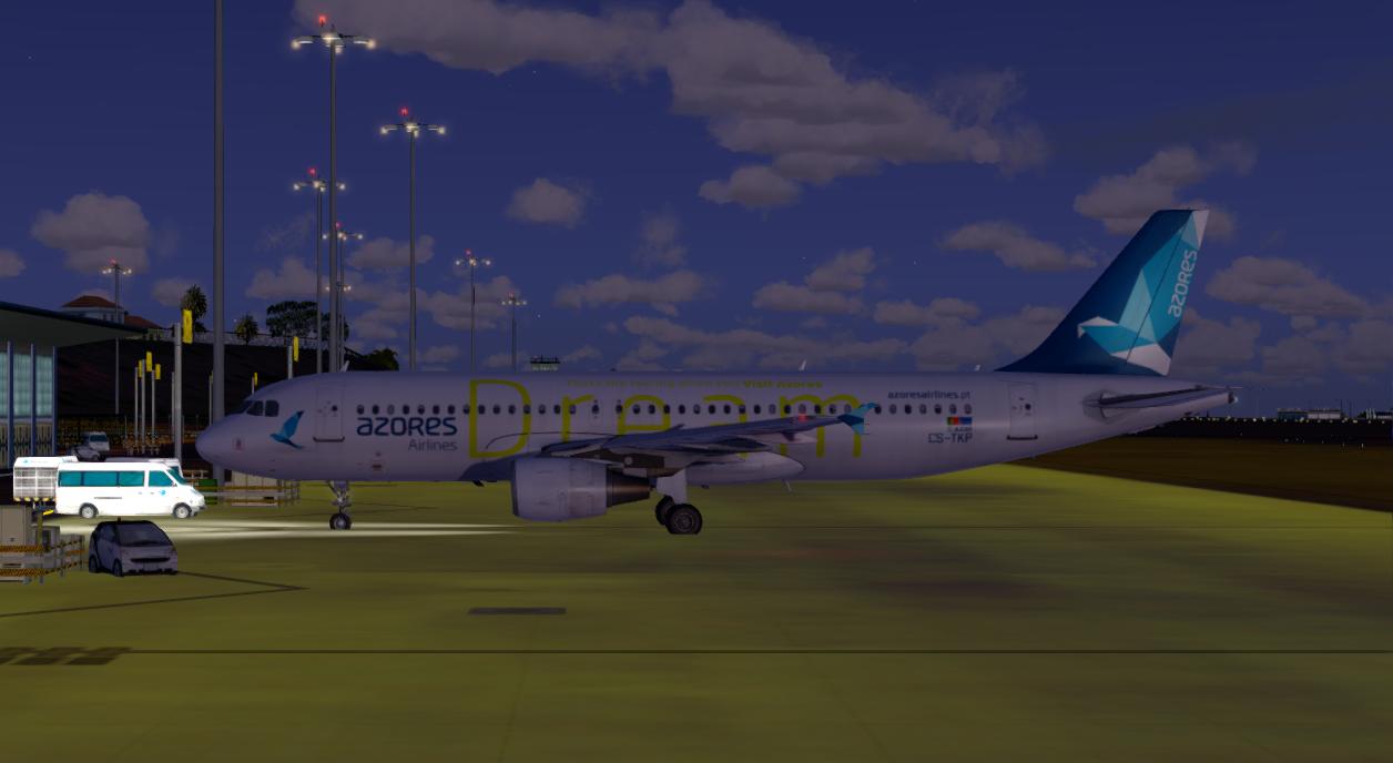 "Aerosoft Airbus A320 CFM Professional Azores Airlines CS-TKP ""Dream"" Livery"