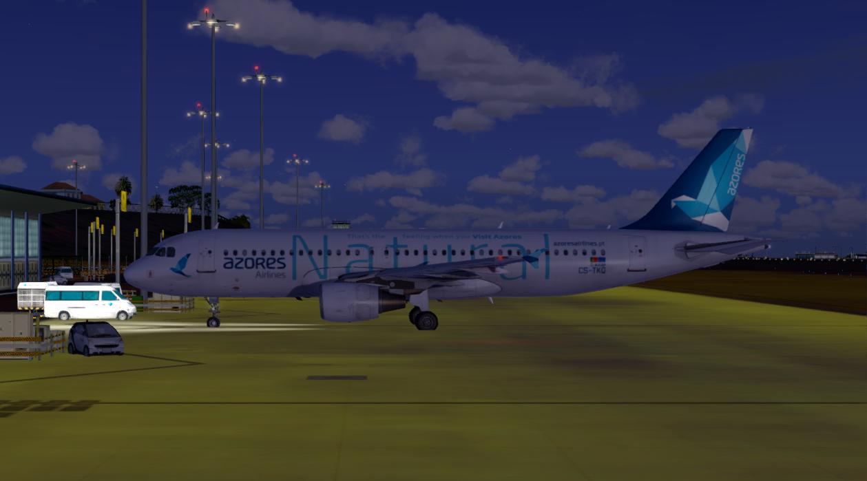 "Aerosoft Airbus A320 CFM Professional Azores Airlines CS-TKP ""Natural"""
