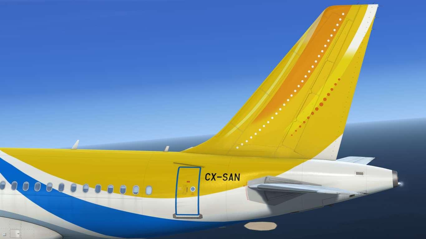 BQB Líneas Aéreas CX-SAN Airbus A319 IAE