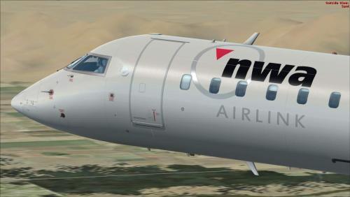Screenshot for Northwest Airlink N901XJ Bombardier CRJ-900