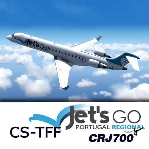 Screenshot for CRJ700 Jet's Go Portugal Regional CS-TFF (version 2017) 1.0.0