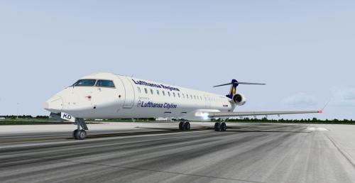 Screenshot for CRJ900ER LH Cityline D-ACKD (with real cockpit textures)