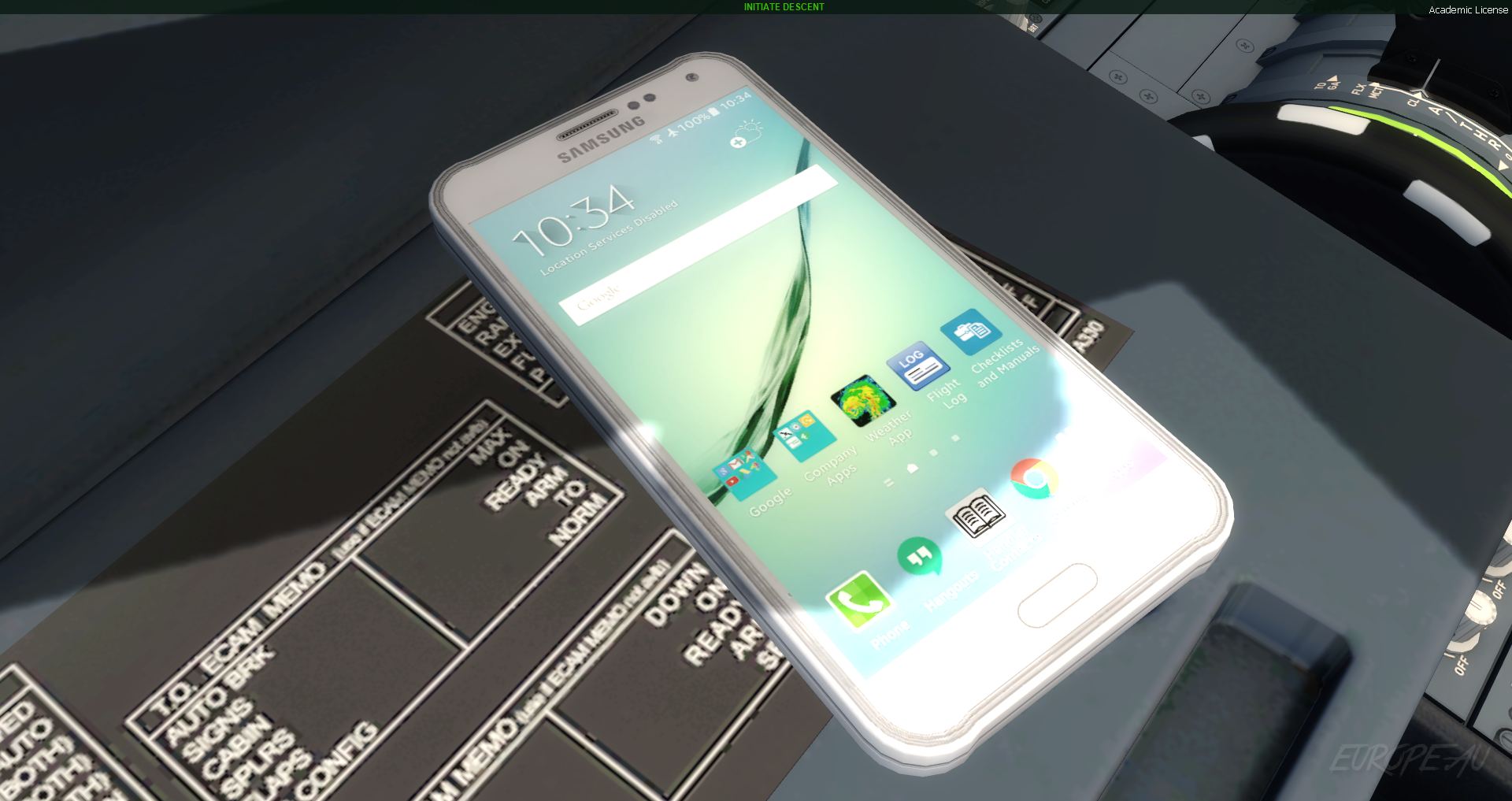 Samsung EFB Phone Texture