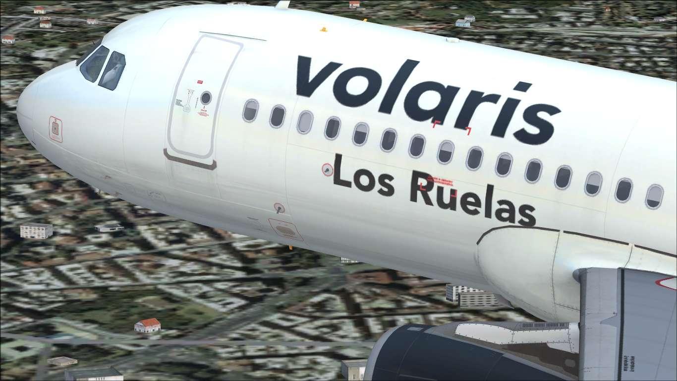 Volaris XA-VLS Airbus A320 IAE