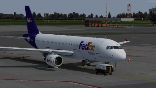 FedEx - Airbus A320 CFM professional FedEx N719FD (Fictional)