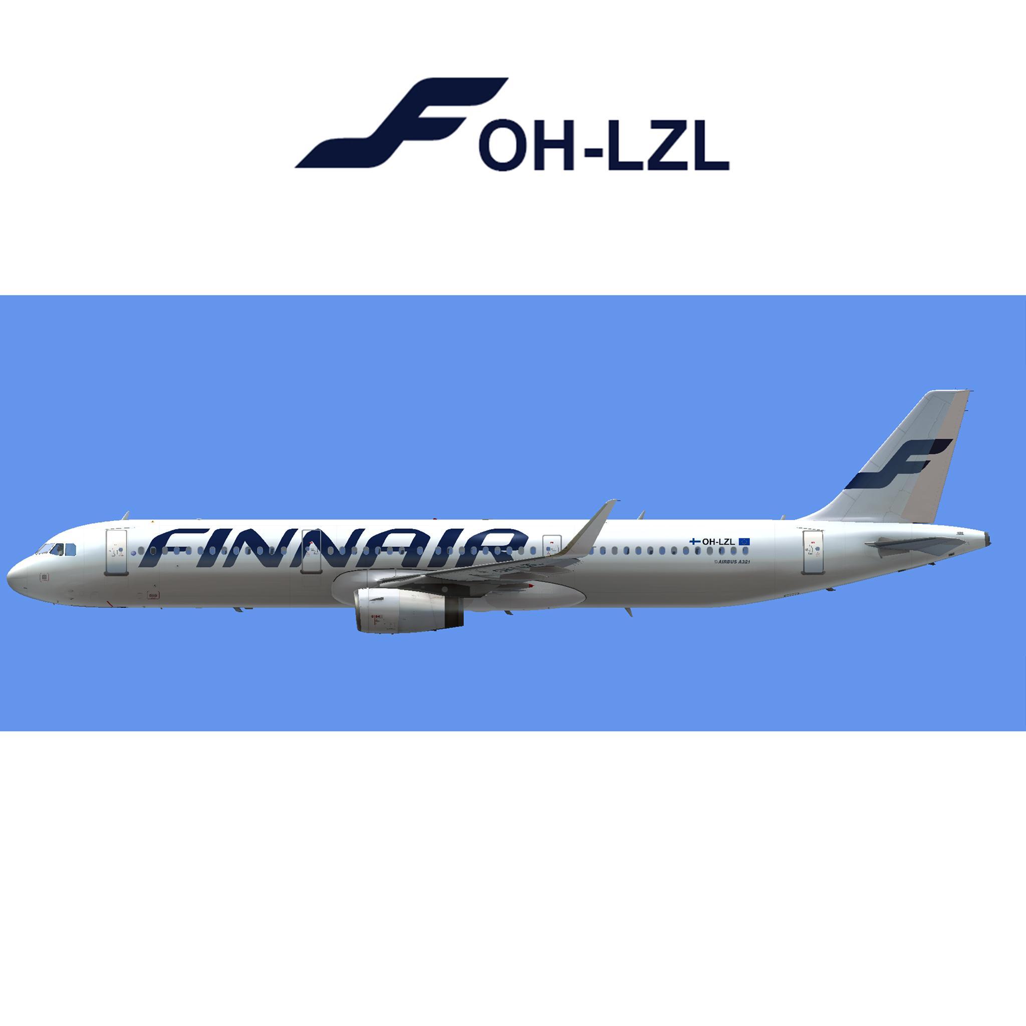 Airbus A321-231 Finnair OH-LZL