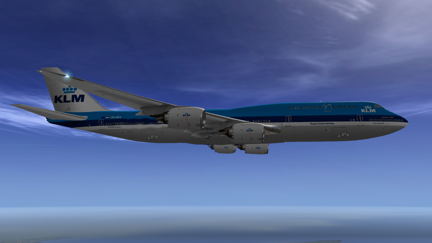 SSG 747-8i - KLM (Old Colors) v 1 - SSG - AEROSOFT COMMUNITY