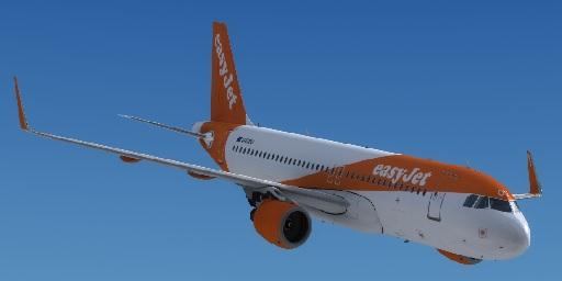 Airbus A320 CFM Sharklets easyJet G-EZOU - Airbus A320/A321 liveries