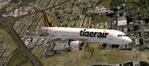 Screenshot for A320-232 Tigerair Australia VH-VNQ