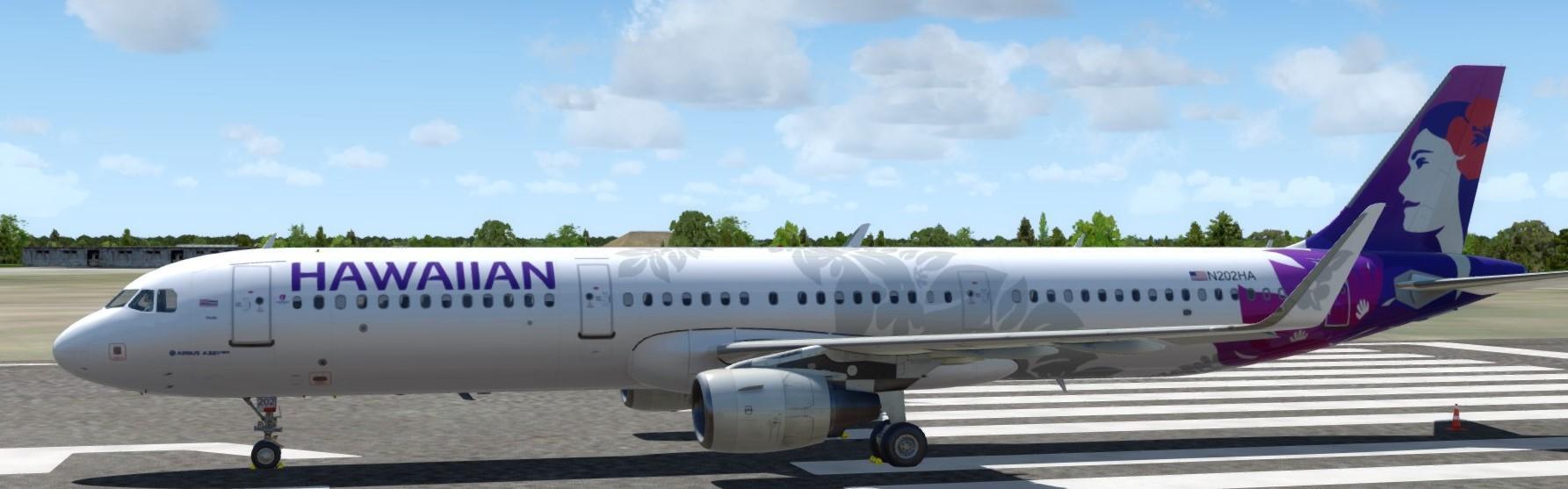 Hawaiian Airlines A321 P3DV4