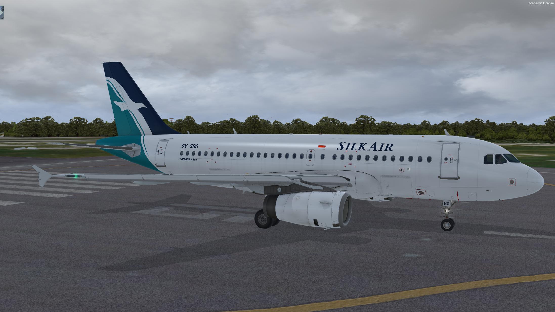 Airbus A319-133 IAE Silkair 9V-SBG