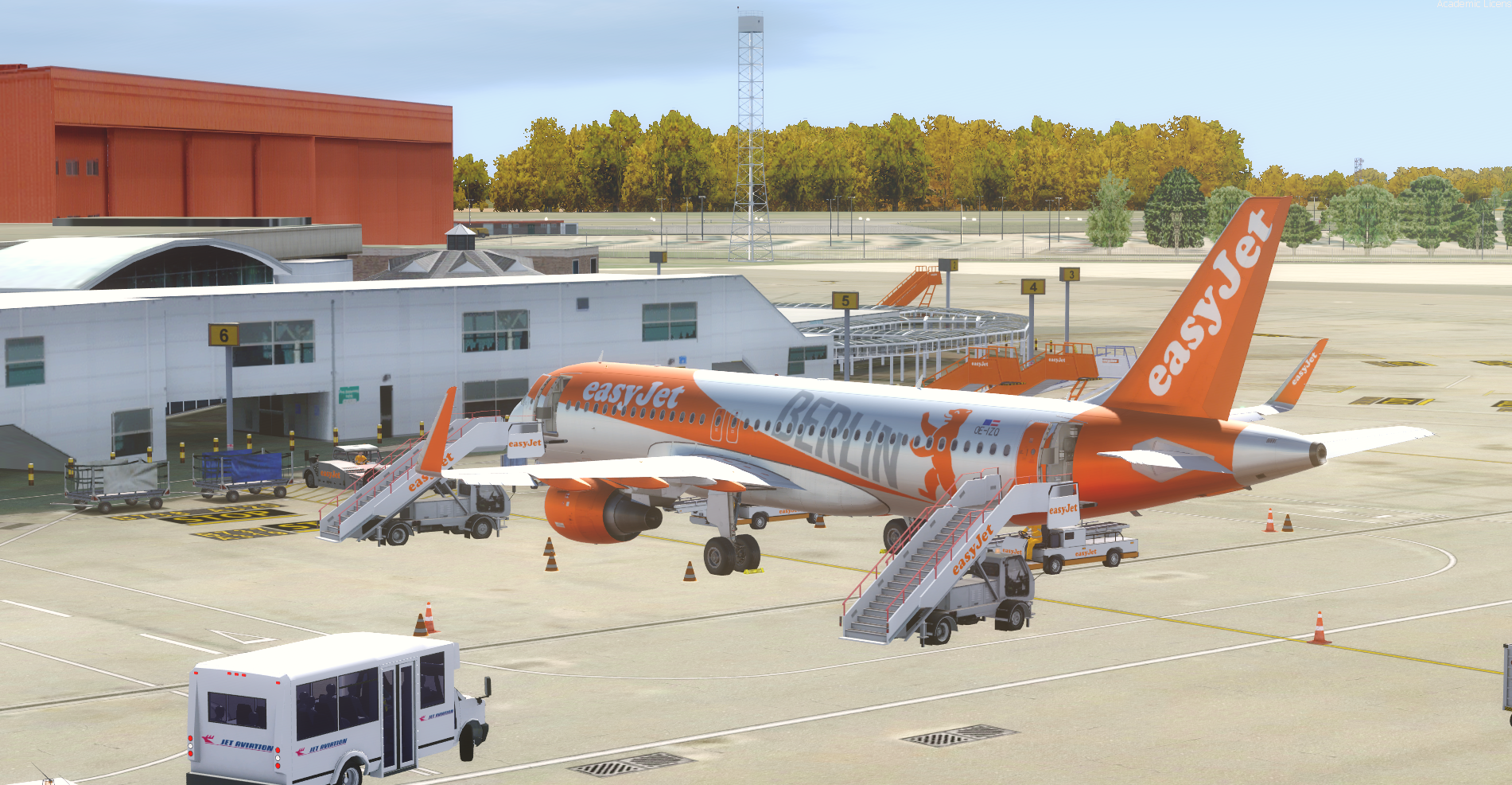 EasyJet Europe OE-IZQ BERLIN Updated to V4
