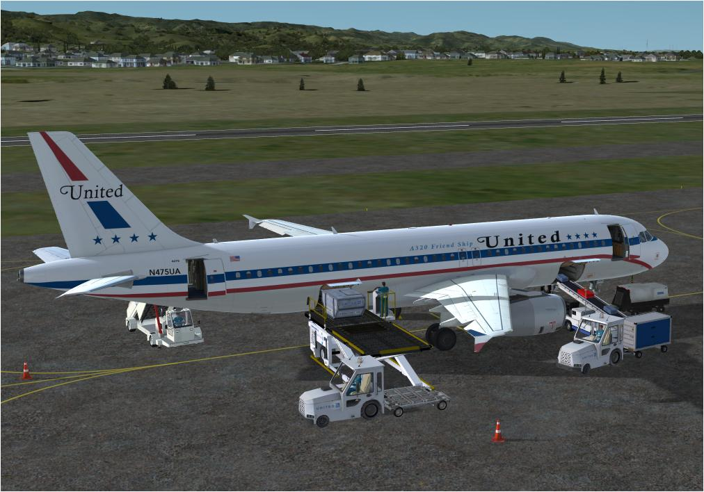 United Airlines Retro for A320 Pro (P3Dv4)