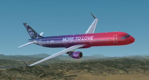 Alaska Airlines Quot More To Love Quot For A321 Pro P3dv4