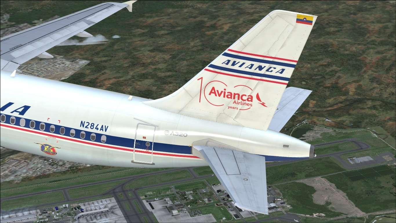 """Avianca """"100 Years"""" N284AV Airbus A320 CFM"""