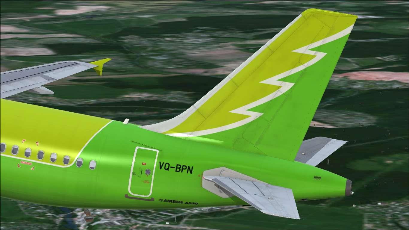 "S7 Airlines ""Sibir' Aviakompaniya"" VQ-BPN Airbus A320 CFM"