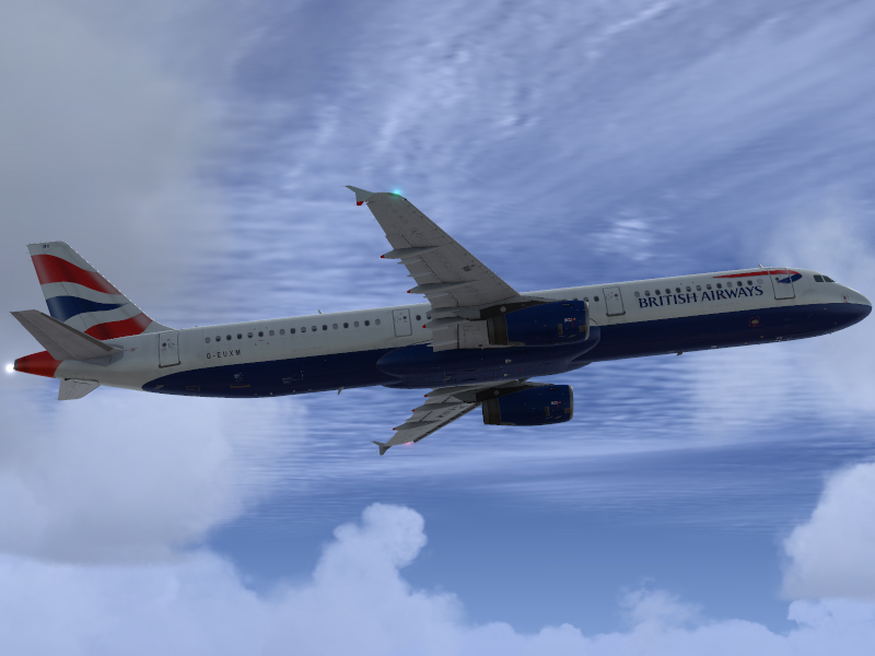 British Airways A321 Fsx