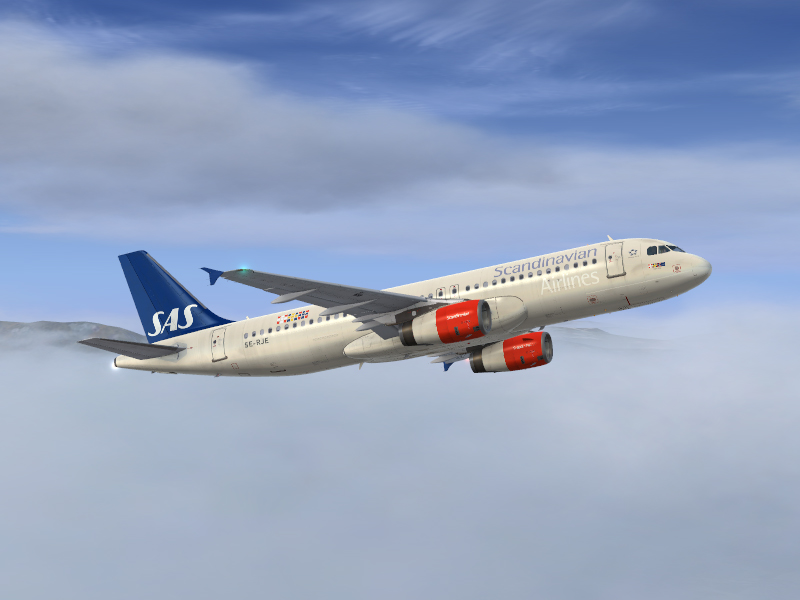 Airbus A320 IAE Scandinavian Airlines SE-RJE - Airbus A320