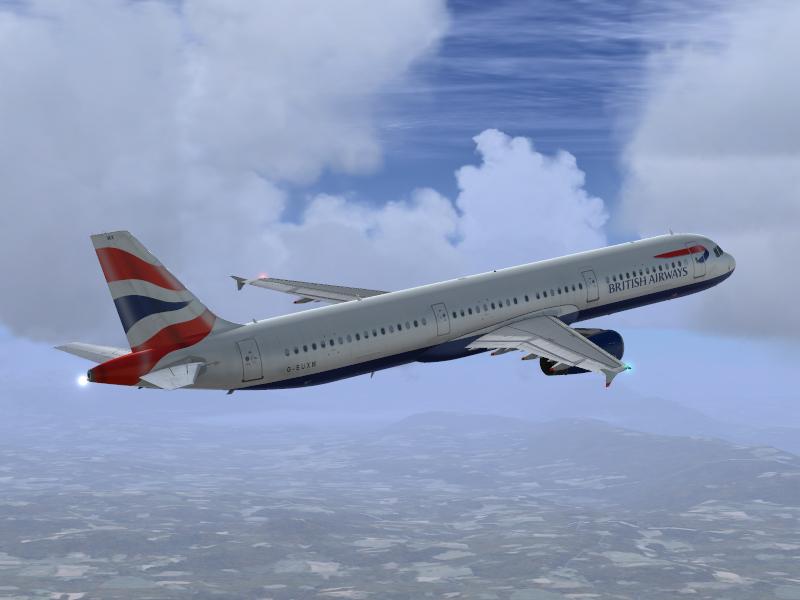 Airbus A321 IAE British Airways G-EUXM - Airbus A320/A321 liveries