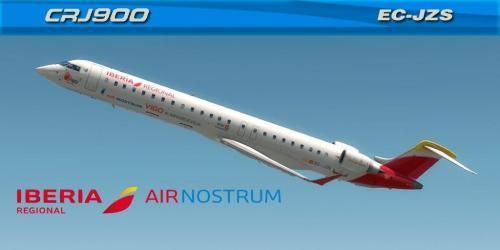 """Air Nostrum """"VIGO #ASEAOFLIFE"""" (EC-JZS) Bombardier CRJ-900"""