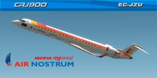 "Air Nostrum ""GALICIA"" (EC-JZU) Bombardier CRJ-900"
