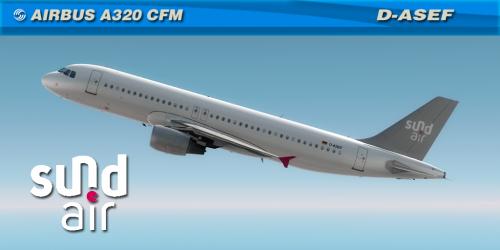 SundAir A320 CFM D-ASEF