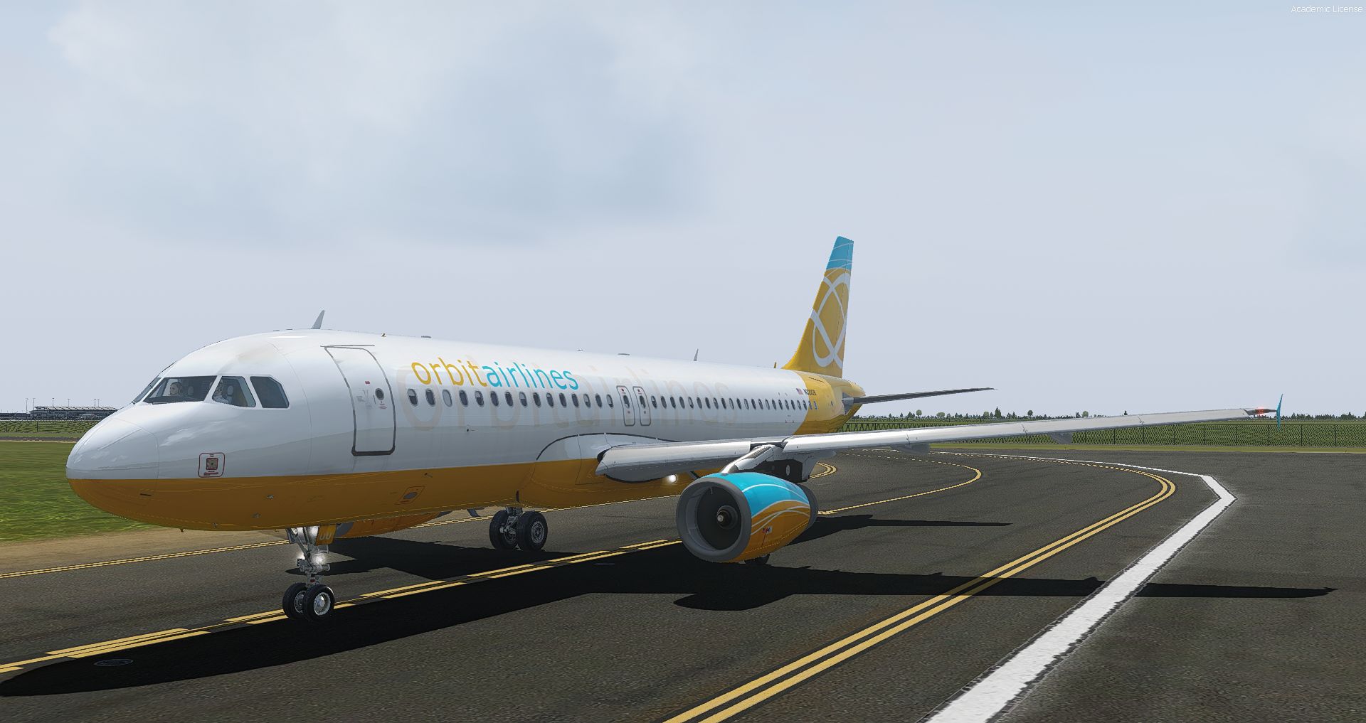 A320 IAE Orbit Airlines