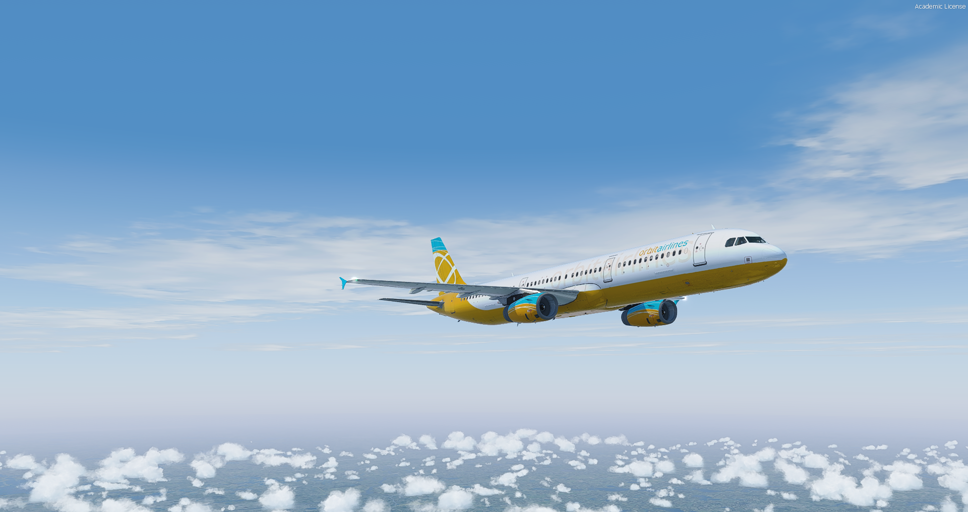 Aerosoft A321 IAE | Orbit Airlines
