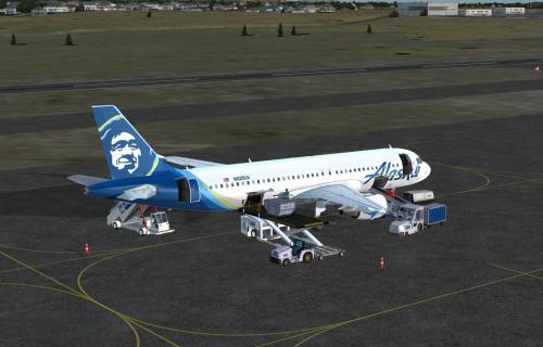 Alaska Airlines Standard Color for A320 Pro (P3Dv4
