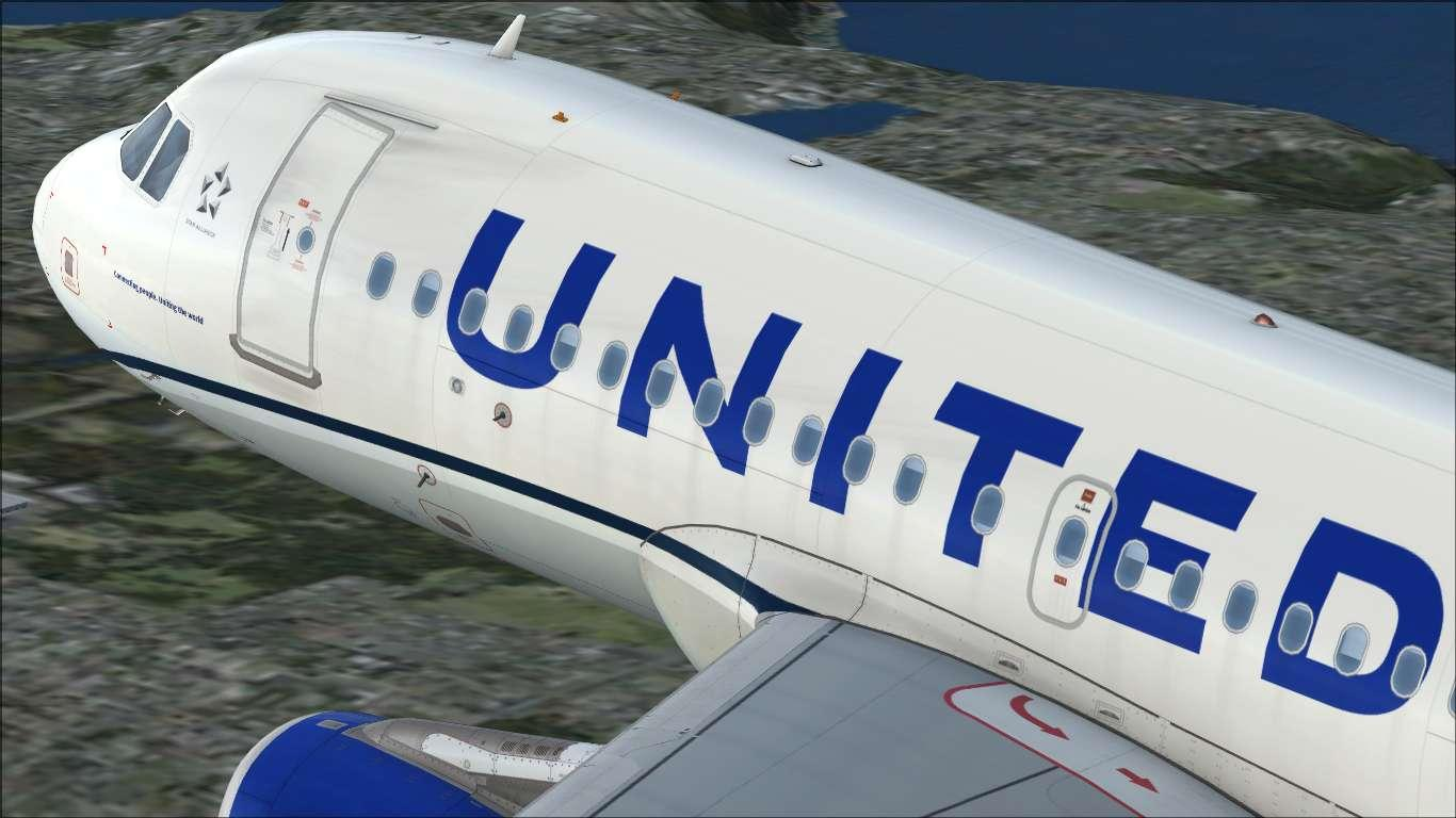 UnitedAirlines (circa 2019) N876UA Airbus A319 IAE