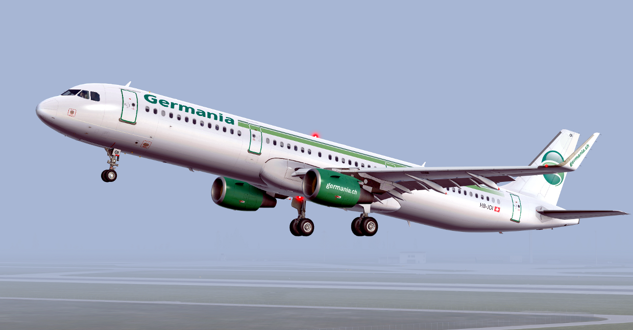 Airbus A321 NEO Germania HB-JOI - Airbus A320/A321 liveries