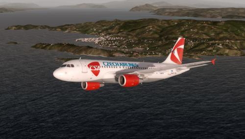 Airbus A319 Czech Airlines OK-MEK - Airbus A318/A319 liveries