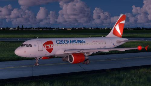 Screenshot for Airbus A319 Czech Airlines OK-NEN