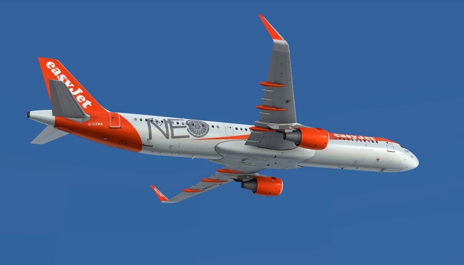 easyJet A321 G-UZMA 'NEO' Livery - Airbus A320/A321 liveries