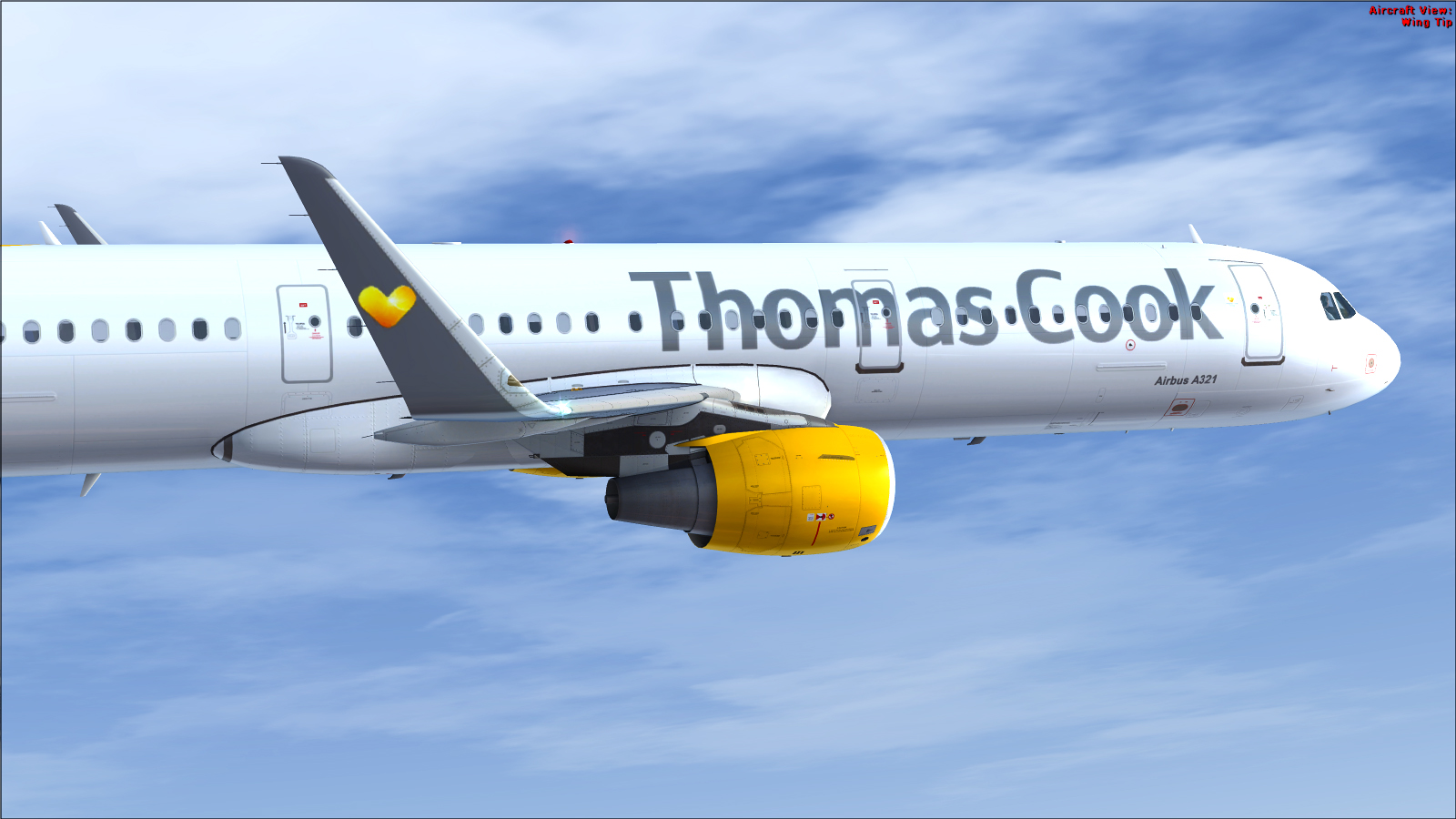 Airbus A321 CFM Sharklet Thomas Cook Sunny Heart G-TCDC