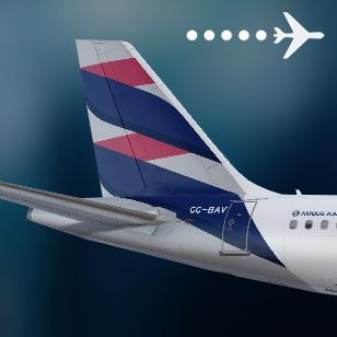 LATAM Chile A320 CC-BAV