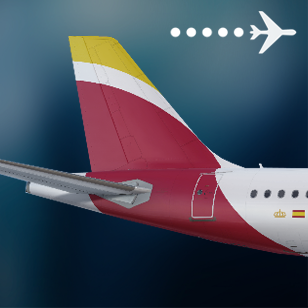"""Iberia A320neo EC-MXU """"Patrulla Águila"""""""