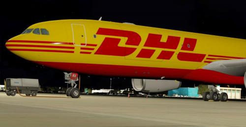 A330  DHL D-ALMA Cargo